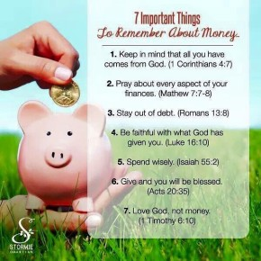 7 Important Things to Remember About Money