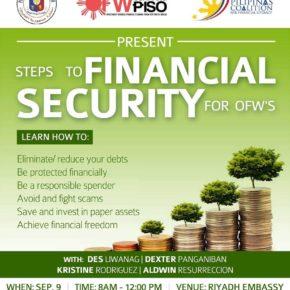 3rd Free Financial Literacy Seminar | Riyadh Saudi Arabia