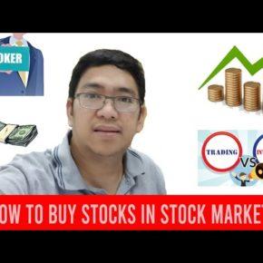 How to Buy Stocks in Stock Market? | Paano Bumili ng Stocks